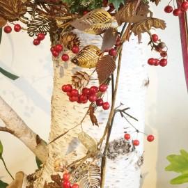 2015クリスマスアイアンリース